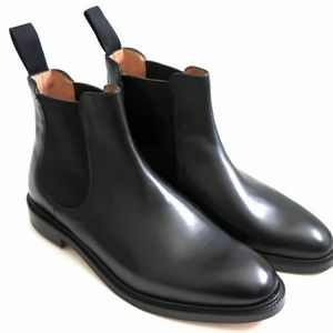Matthew Dack's Calf Leather Chelsea Boots